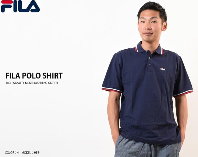 5f71d75433d2c FILA フィラ メンズ 半袖 ポロシャツ 吸汗速乾加工 スポーツ ブランド ゴルフ ゴルフウェア トップス 半袖