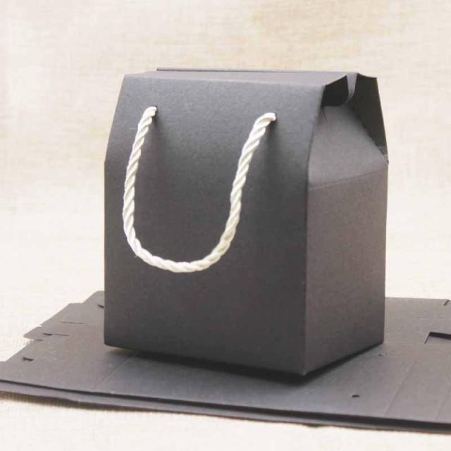 ギフト用手提げペーパーバック 1個販売 紙袋 黒色 ブラウン ブラック 茶色 プレゼント用 アクセサリー用 クッキー 手作り ラッピング用品|au  Wowma!(ワウマ)