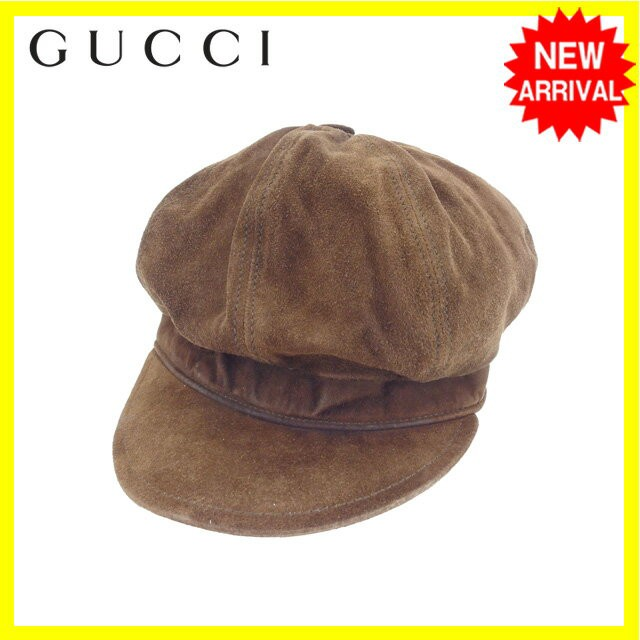 new product fe066 0651c グッチ GUCCI 帽子 レディース キャスケット 【中古】 Y4268|au Wowma!(ワウマ)