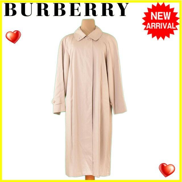 高級品市場 バーバリー BURBERRY コート 服 上着 服 シングル ロング レディース ステンカラー 【】 L2214, 瀬戸内町 6ed2df13