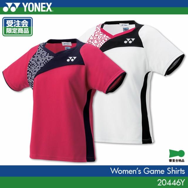 4aeeb25269dd9d ヨネックス YONEX ゲームシャツ 20446 レディース 女性用 バドミントン テニス ユニフォーム 受注会限定商品