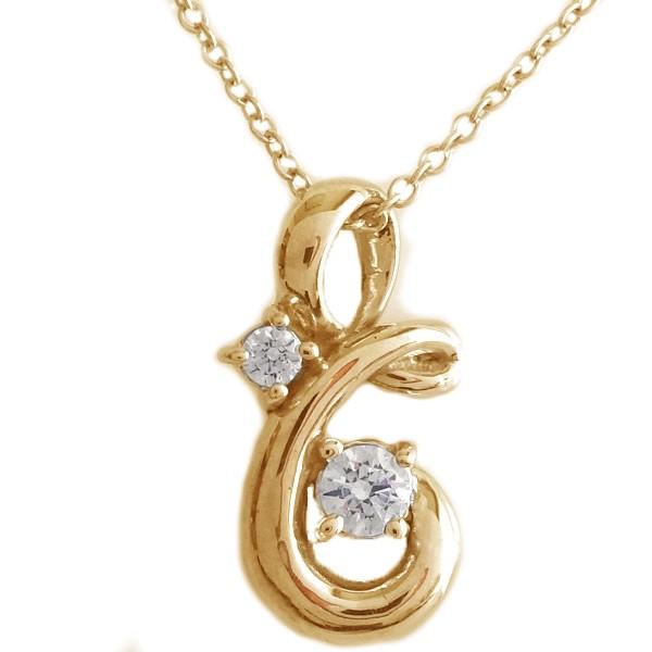 新しいブランド ネックレス ペンダント 4月誕生石 K18 ダイヤ ピンクゴールド K18pg ダイヤモンド-ネックレス