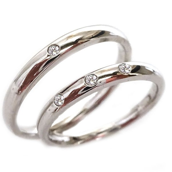 新品本物 結婚指輪 プラチナ Pt900 マリッジリング ペアリング ダイヤモンド ペア2本セット ペアリング 結婚指輪 Pt900 ダイヤ, 無農薬茶と紅茶の水車むら農園:11f8b417 --- jewish.apo-voelter.de
