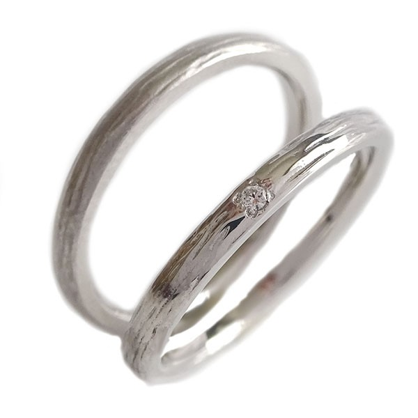 特別セーフ 結婚指輪 マリッジリング ホワイトゴールドk10 ペアリング ダイヤモンド ペア2本セット K10wg, カーペット寝具専門 快適生活館 f2a9a5be