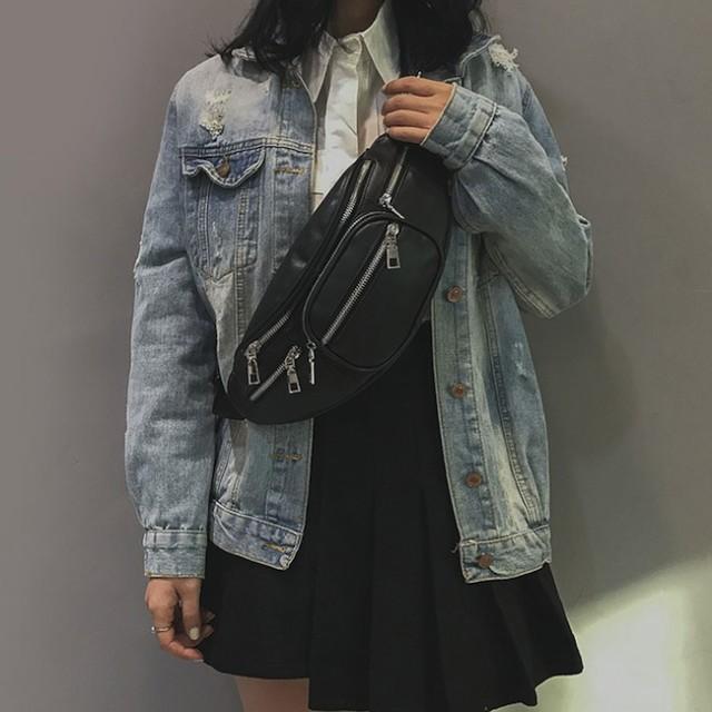 ウエストポーチ バッグ トレンド ミニ 原宿 韓国