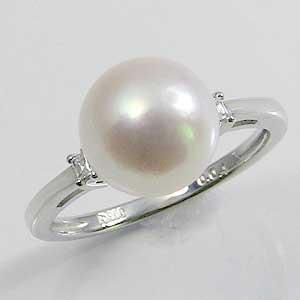 全ての リング パール ホワイトゴールド 指輪 あこや真珠パール K18WG ホワイトゴールド リング おしゃれ 指輪 ダイヤモンド 指輪 おしゃれ レディース 冠婚葬祭, アツミグン:447b7147 --- standleitung-vdsl-feste-ip.de