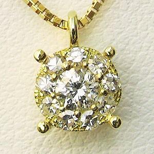 正規品! ダイヤモンド ペンダント ネックレス K18 K18 ダイヤモンド ゴールド, ジョウボウジマチ:40c8e1ba --- 1gc.de