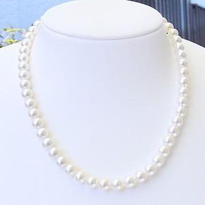人気デザイナー 真珠 ネックレス パール イヤリング 2点セット 7.5mm-8mm あこや レディース 冠婚葬祭, タケハラシ 78c1e619