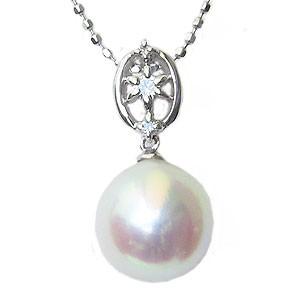 売り切れ必至! 真珠 パール ペンダントトップ あこや本真珠 8.5mm 真珠 K18WG 8.5mm ホワイトゴールド ダイヤモンド ダイヤモンド 0.05ct, 横浜フランス菓子 プチフルール:e3188caf --- frauenfreiraum.de