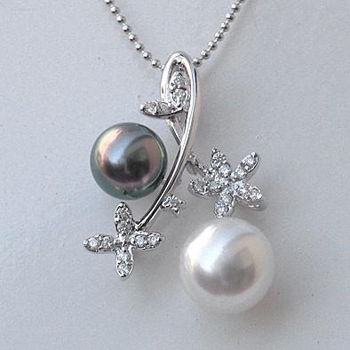 タヒチ黒蝶真珠,南洋白蝶真珠