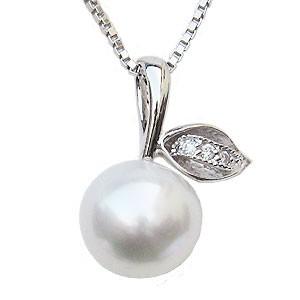 ー品販売  真珠 ペンダント 南洋白蝶真珠 K18WG 計0.03ct 南洋白蝶真珠 真珠の径10mm ホワイトピンク系 ダイヤモンド ペンダント 3石 計0.03ct ペンダントトップ, オタルシ:3c4b2c96 --- 1gc.de