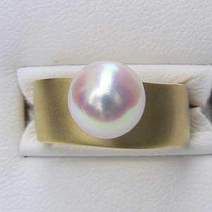 衝撃特価 あこや本真珠 K18 アコヤ本真珠 リング おしゃれ ピンクホワイト系 ラウンド形 9mm 9mm アコヤ本真珠 指輪 指輪 おしゃれ レディース 冠婚葬祭, ガーデニング工房:b2525547 --- pfoten-und-hufe.de