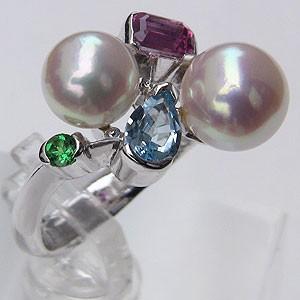 【好評にて期間延長】 アコヤ本真珠 リング ダイヤモンド 指輪 ダイヤモンド パール ピンクホワイト系 7mm・8mm パール K18WG ホワイトゴールド 指輪 指輪 おしゃれ, やすらぎと癒しのショップ:55718002 --- pfoten-und-hufe.de