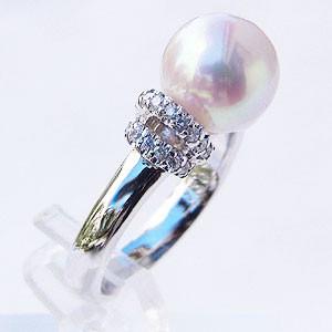 【中古】 ブライダル レディース リング パール 指輪 あこや真珠パールリング ブライダル K18ホワイトゴールド ダイヤモンド 指輪 指輪 おしゃれ レディース 冠婚葬祭, 奥田ねっとストア:4331dee7 --- pfoten-und-hufe.de