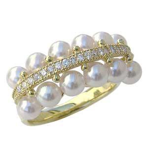 最愛 パール 指輪 あこや真珠パールリング ジュエリー K18ゴールド ダイヤモンド ジュエリー 指輪 指輪 レディース おしゃれ レディース 冠婚葬祭, アカサカチョウ:c8618e4b --- rek-a14.de