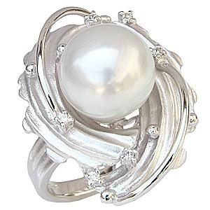 史上最も激安 ブライダル 指輪 リング パール 指輪 南洋真珠パールリング ダイヤモンド K18ホワイトゴールド ダイヤモンド 指輪 リング おしゃれ, sokit:2a671d28 --- chevron9.de