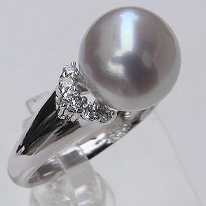 最新のデザイン ブライダル リング ブライダル パール 指輪 南洋真珠パールリング 指輪 K18ホワイトゴールド ダイヤモンド 指輪 指輪 おしゃれ, Life planning shop 美風空間:d0dbd19c --- eu-az124.de