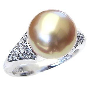 【最新入荷】 南洋白蝶真珠 ダイヤモンド K18WG ホワイトゴールド 11mm 指輪 ゴールド系 リング ゴールド系 11mm パール ダイヤ 指輪 指輪 おしゃれ, やまなしけん:81dcdb60 --- chevron9.de