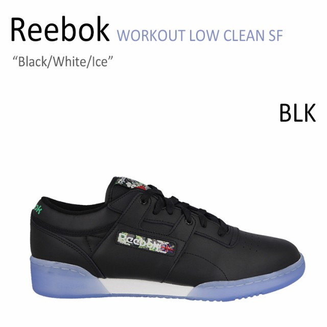 d69962e1f6449a Reebok WORKOUT LOW CLEAN SF Black White Ice  リーボック  V67877 ...