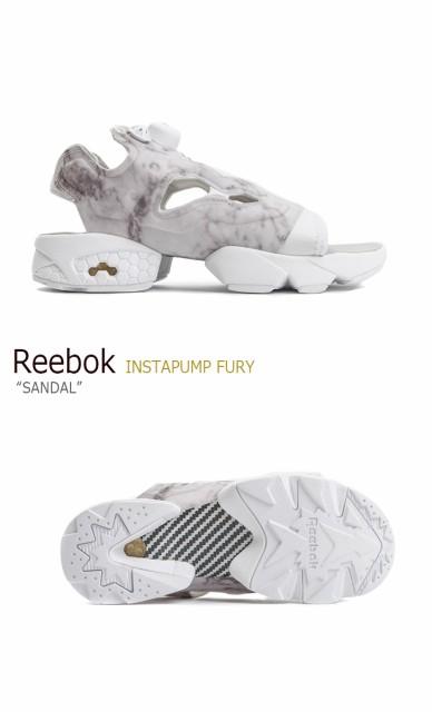 578049fd4b14b7 Reebok INSTAPUMP FURY Sandal   Steel White リーボック  ポンプフューリー