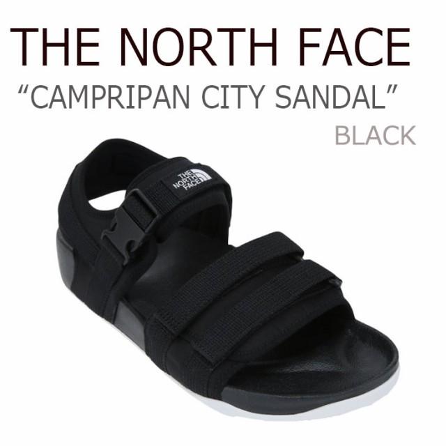 ノースフェイス THE NORTH FACE CAMPRIPAN CITY SANDAL キャンプリパン シティーサンダル Black ブラック  NS98J14A J