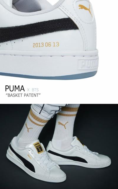 big sale b7d46 5b929 プーマ BTS スニーカー PUMA メンズ レディース BTS BASKET PATENT バスケットパテント WHITE ホワイト  368278-01 36827801 シューズ|au Wowma!(ワウマ)