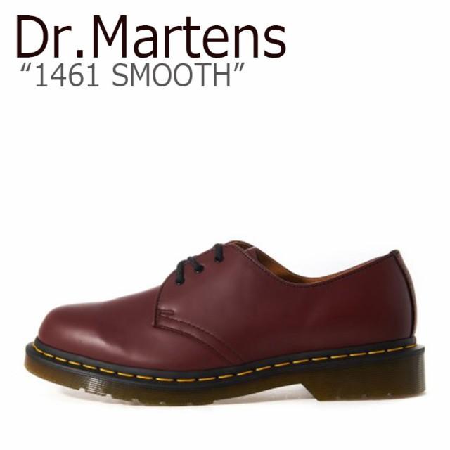 【超新作】 ドクターマーチン 3ホール Dr.Martens メンズ レディース 1461 SMOOTH スムース CHEERY RED チェリーレッド 11838600 シューズ, 飲食店消耗品販促品のカミナガ 13c0c350