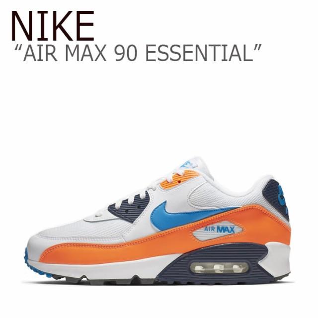 【在庫一掃】 NIKE 90 MAX エアマックス オレンジ ESSENTIAL エアマックス AIR スニーカー ナイキ 90 AJ1285-104 ホワイト 90 エッセンシャル メンズ-靴・シューズ