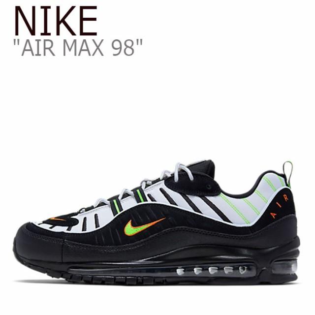 【在庫処分】 ナイキ エアマックス スニーカー NIKE メンズ レディース AIR MAX 98 エア マックス 95 BLACK ブラック 640744-015 シューズ, ONEPIECE c7def1fd