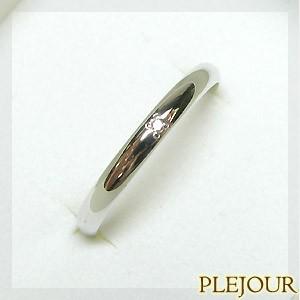 超安い品質 ダイヤモンドリング シンプル プラチナ900 約0.014ct前後 指輪, Zafiroco 98783110
