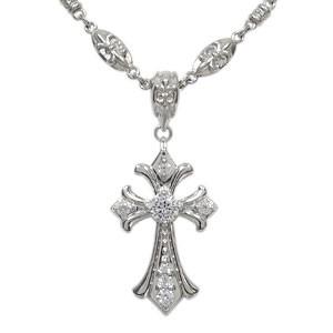 【あす楽対応】 メンズ メンズ ネックレス ダイヤモンド クロス ネックレス 10金 10金 ダイヤモンド ネックレス, セカンドスピリッツ:300f7eaf --- 1gc.de