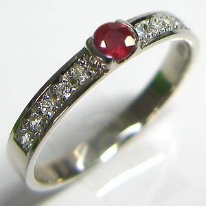 最も信頼できる 結婚指輪・ルビー・リング・マリッジリング・プラチナ, オオクラムラ 6876869b