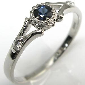 ●日本正規品● 婚約指輪・18金・リング・サファイア・エンゲージリング, ホビーショップB-SIDE 2c9880e7