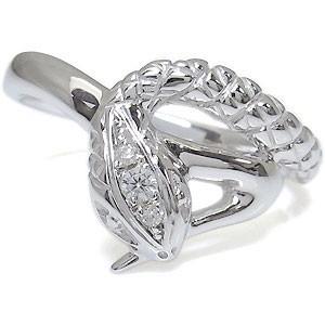 【送料無料】 メンズリング ダイヤモンド スネーク 蛇 ヘビ リング 10金, 名古屋今池 やぶ屋のお取り寄せ dcb7db37