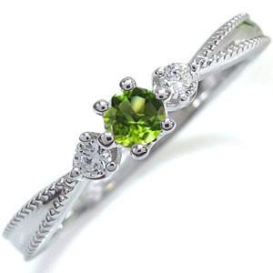 【高い素材】 ペリドット・リング・王冠・10金・リング・指輪, 1着でも送料無料 ba9c29e0