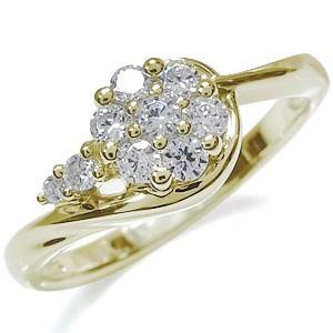 人気商品の ダイヤモンド・リング・K18・フラワー・花・指輪, カネセン家具OnlineShop:8371edf4 --- chevron9.de