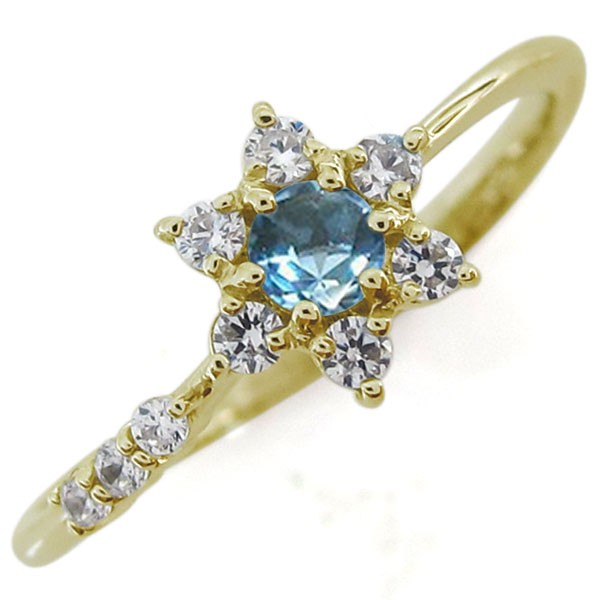 日本最大の 結婚記念日 結婚10周年 誕生石 流れ星 18金 指輪, 花珠真珠店 51221fc5