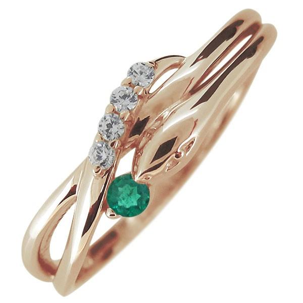 最新デザインの 指輪 レディース 18金 18k ヘビ 蛇 5月誕生石 エメラルド スネークリング, 北魚沼郡 5b398c18