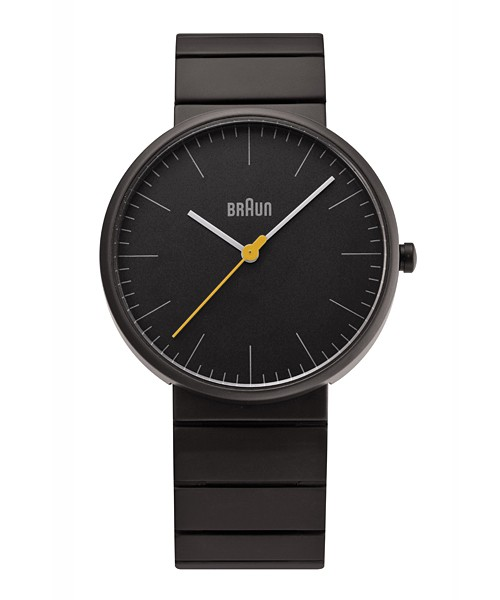 【日本製】 BRAUN Watch BN0171(BN0171BKBKG ブラック), ローリングストーン 9f11f8a4