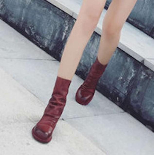 ブーツ レディース レザー シューズ 革 ショートブーツ アウトドア 軽量 夏 軽い おしゃれ 春 冬 幅広 秋