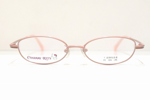 CHARMMY KITTYキティちゃんCH-605 PK子供用メガネフレーム新品めがね 眼鏡 サングラス可愛い日本製安心安全