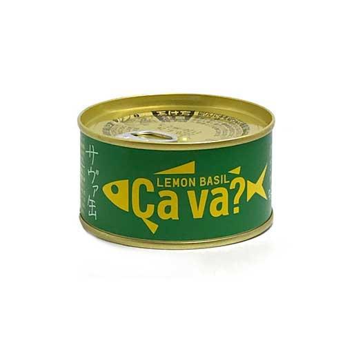 サヴァ缶 国産サバのレモンバジル