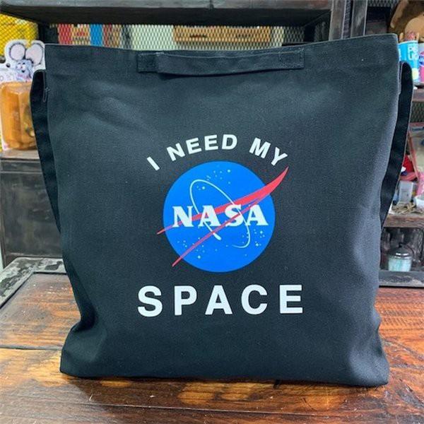 NASA 2WAY Shoulder Bag insignia (ブラック)アメリカ航空宇宙局 ...