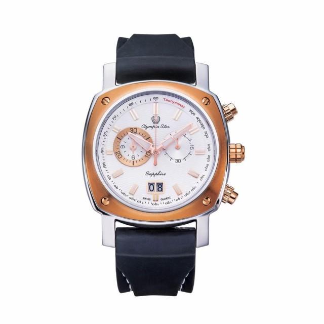 【史上最も激安】 ★送料無料★OLYMPIA STAR(オリンピア スター) メンズ 腕時計 OP-589-02MSR-3, キタガタチョウ 8e895588