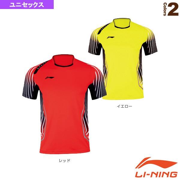 [リーニン テニス・バドミントン ウェア(メンズ/ユニ)]中国ナショナルチームゲームシャツ/ユニセックス(AAYJ123) au Wowma!(ワウマ)