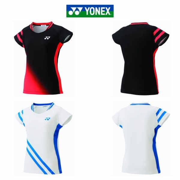 8b9f54ca202144 ヨネックス レディース ゲームシャツ 20504Y ブラ... ヨネックス レディース ゲームシャツ 20504Y ブラック ホワイト M L O  ...