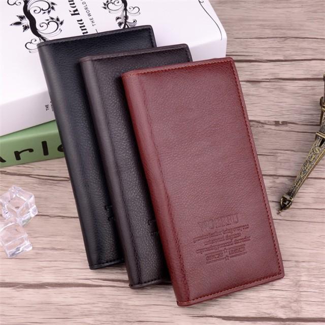 6856909bd6b4 長財布 薄型 メンズ 大容量 薄手 小銭入れが大きい長財布 かわいい おしゃれ 軽量