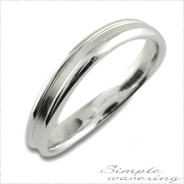 適切な価格 【送料無料】指輪 婚約指輪 シンプルリング エンゲージリング ホワイトゴー リング 結婚指輪-指輪・リング