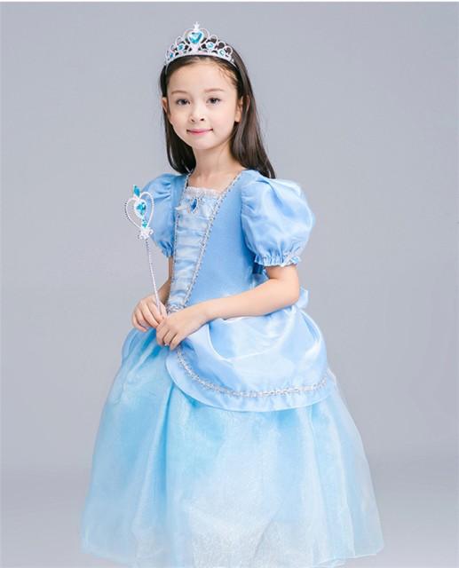 df0ca8802402c 子供デディズニープリンセス キッズ シンデレラ ワンピース なりきりワンピース プリンセスドレス 子どもドレス プリンセス