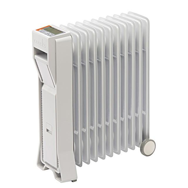 新しい到着 最大10畳 ユーレックス ECO 暖房器具 オイルヒーター1500W LFX11EH マイタイマー搭載 ヒーター LEDライト 日本製 省エネ eureks 暖房-暖房器具